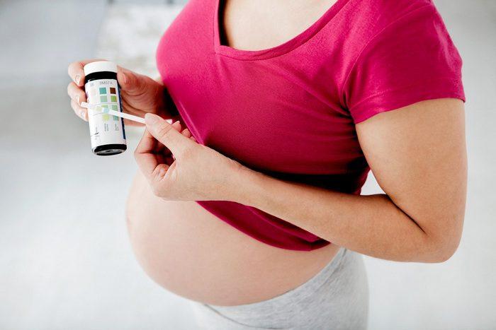 Соли в крови беременных