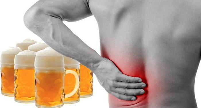 Болят почки после пива что делать