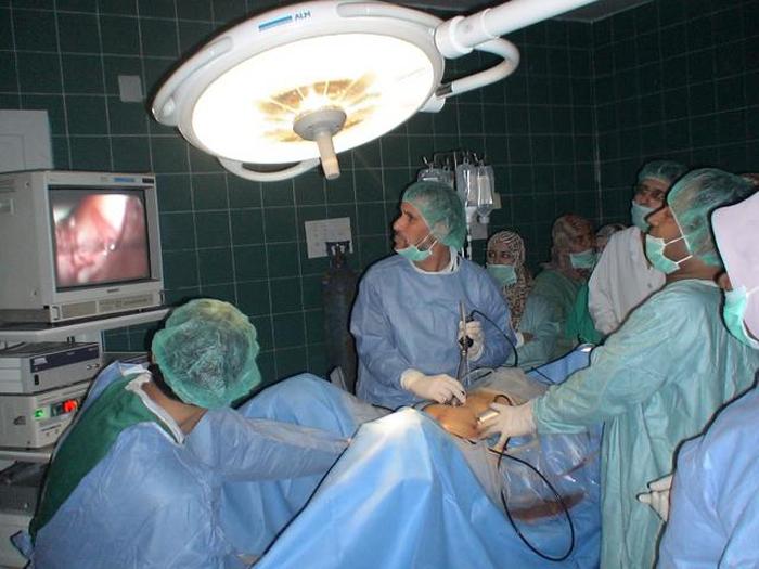 операция по удалению камней в почках