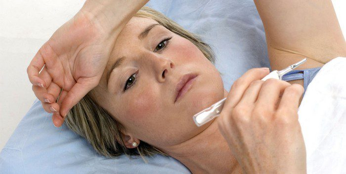 температура при пиелонефрите