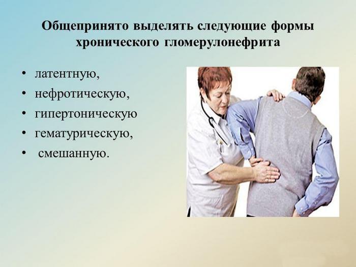 хронический гломерулонефрит почек