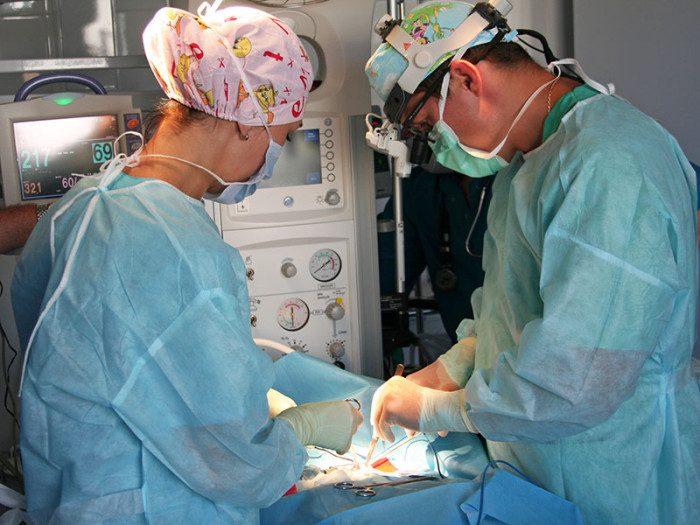 операция по удалению кисты на почке
