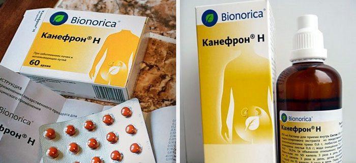 таблетки для почек канефрон